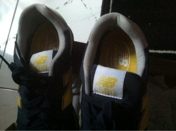 WTS sepatu new balance GM500 100% ori