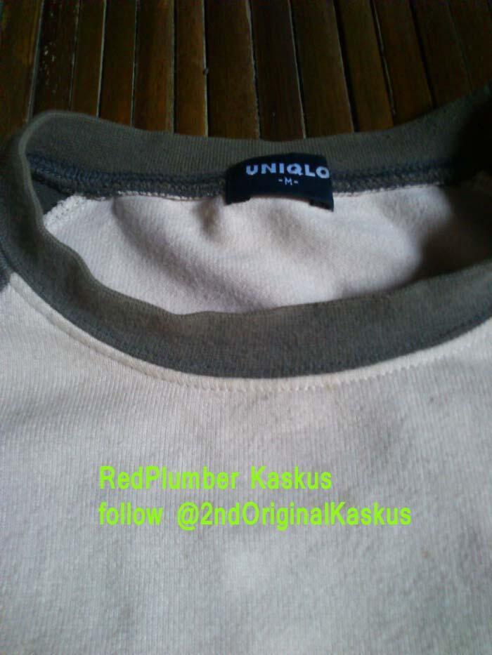[Anti Mainstream] #2nd Jaket Sweater UNIQLO Original - Rare Items : hoodie, parka
