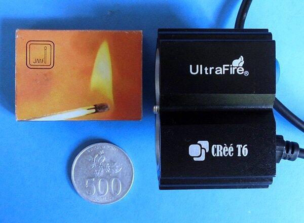 Jual Floodlight/Lampu Sorot LED Cree 2xT6 20 watt 10 watt DC 12 volt