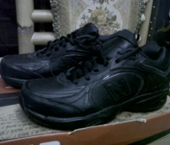 sepatu new balance hitam #ori# cocok buat skul #