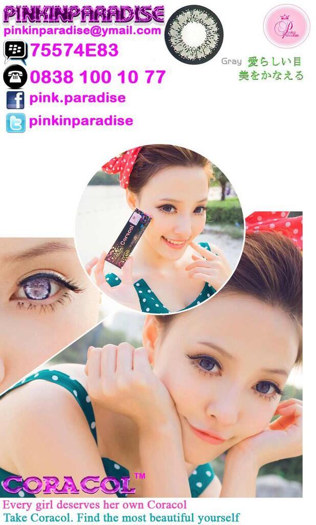 ♥ Pinkinparadise™ VALENTINE PROMO ♥ Soft Lens Contact Lens ♥GRATIS ONGKIR & LENSCASE♥