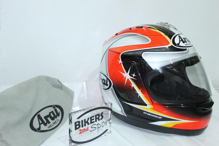 [Bikers2ndsport] FS : ARAI RX7 RR5 AOYAMA Size L. LENGKAP. GOOD CONDITION