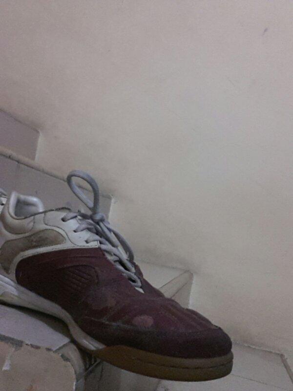 jual sepatu futsal ctr 360 warna merah maroon ukuran 41