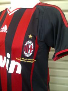 Jersey Retro AC Milan 2009