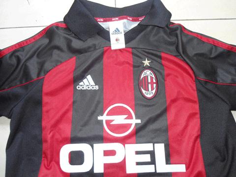 Jersey Retro AC Milan 2001
