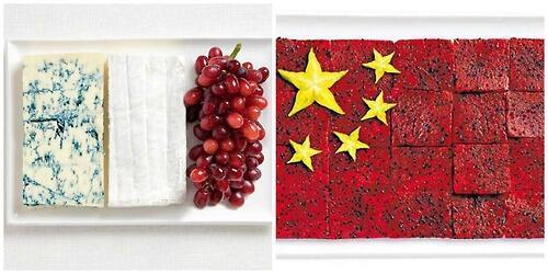 Bendera Negara ini terbuat dari Kue