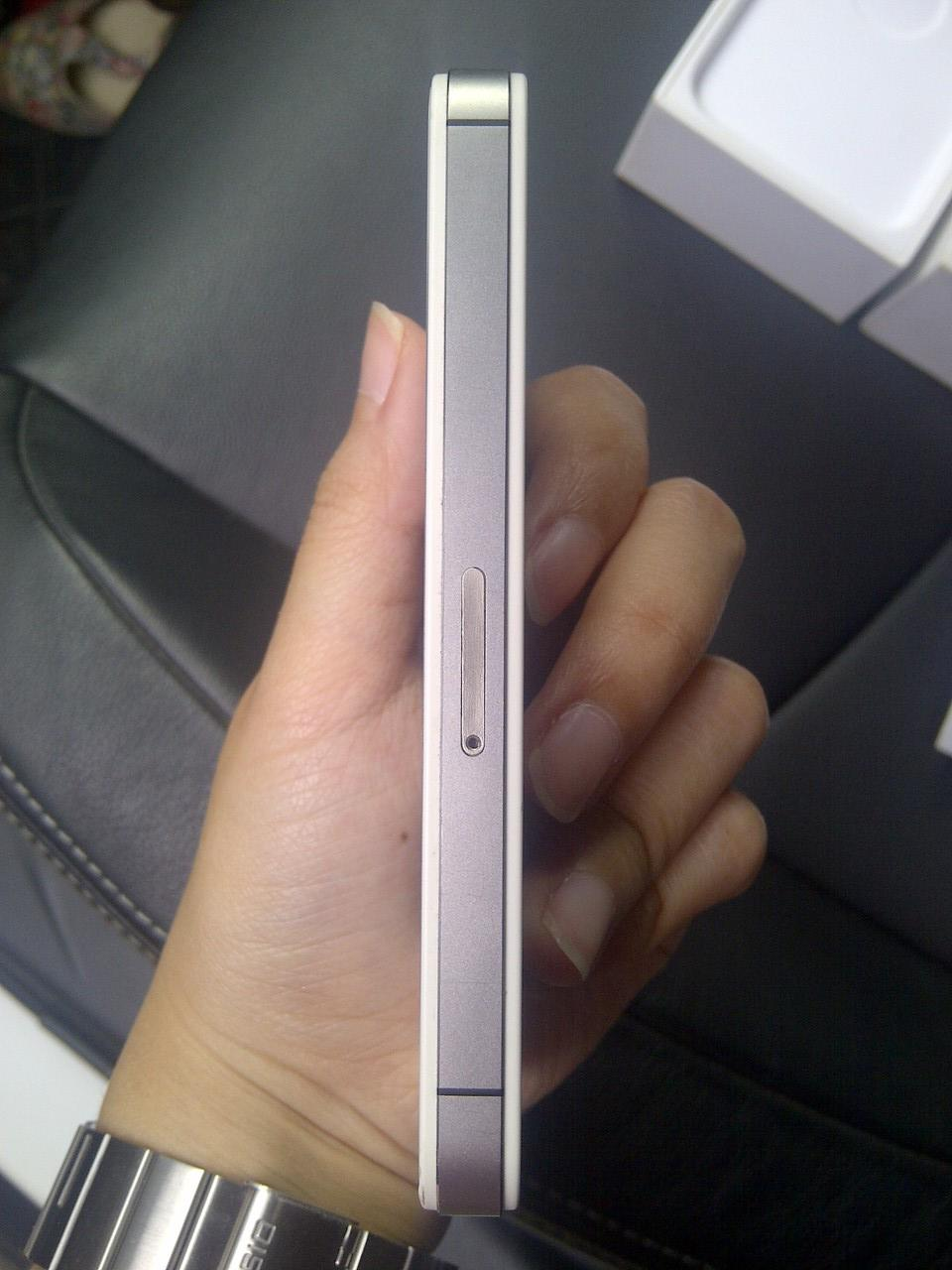 WTS iphone 4s SU white lengkap