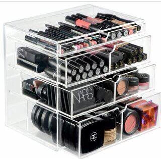 Acrilyc make up organizer