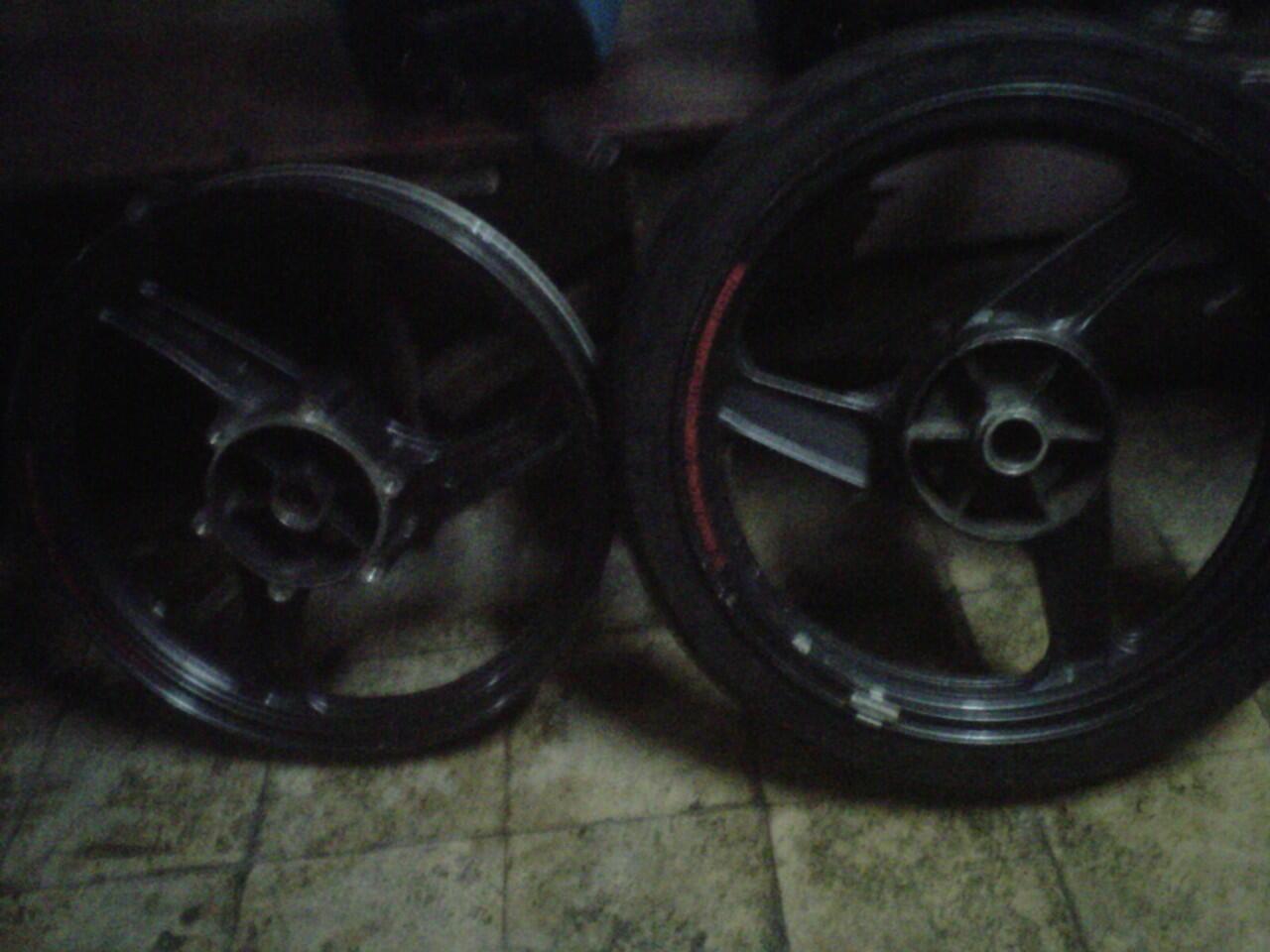 Velg Ninja R dan RR Asli Copotan Motor