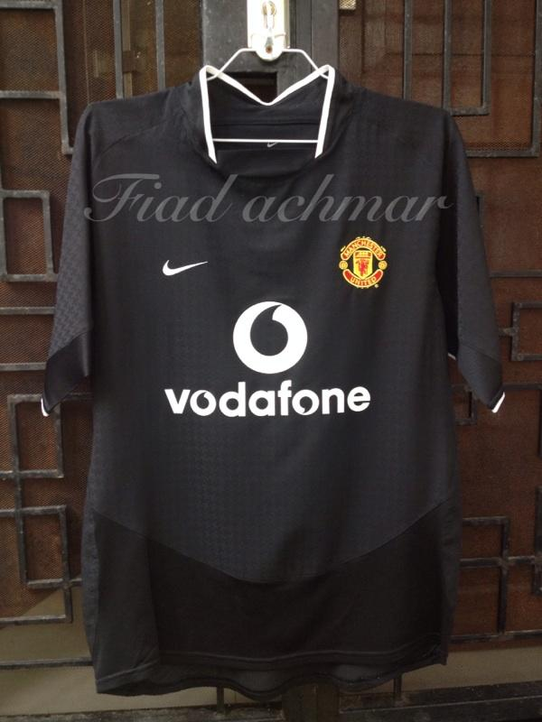 Jersey Original MU Manchester United Away 04/05 size M murce