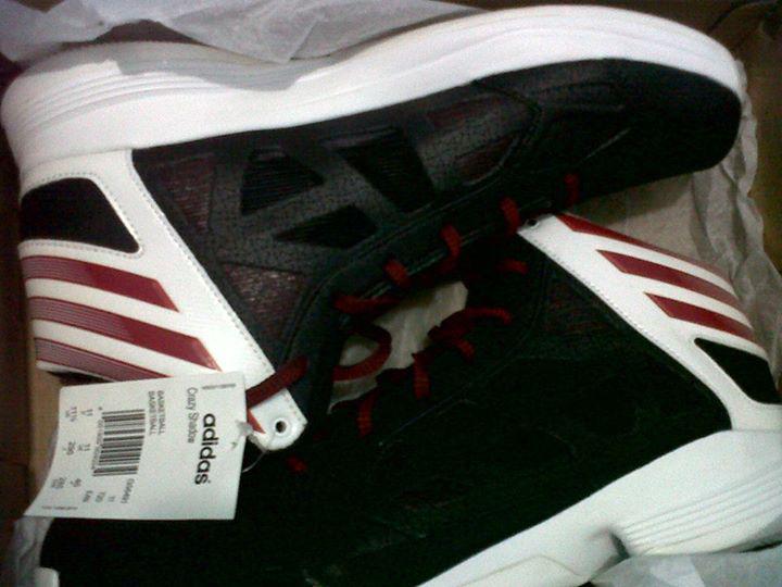 adidas basketball crazy shadow size 43 baru original bogor