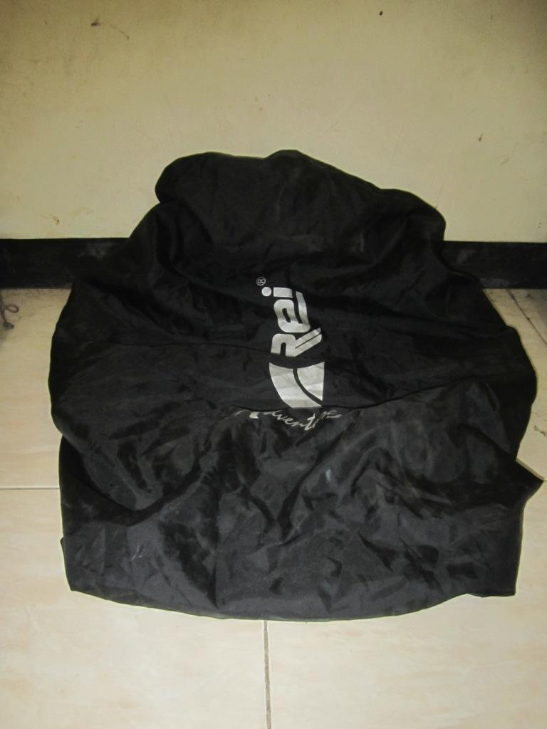Carrier REI 65L, double frame, cover