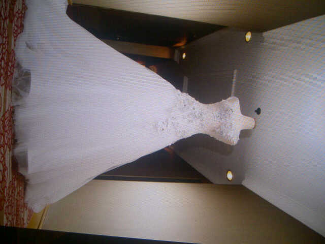 Jual wedding gown first second