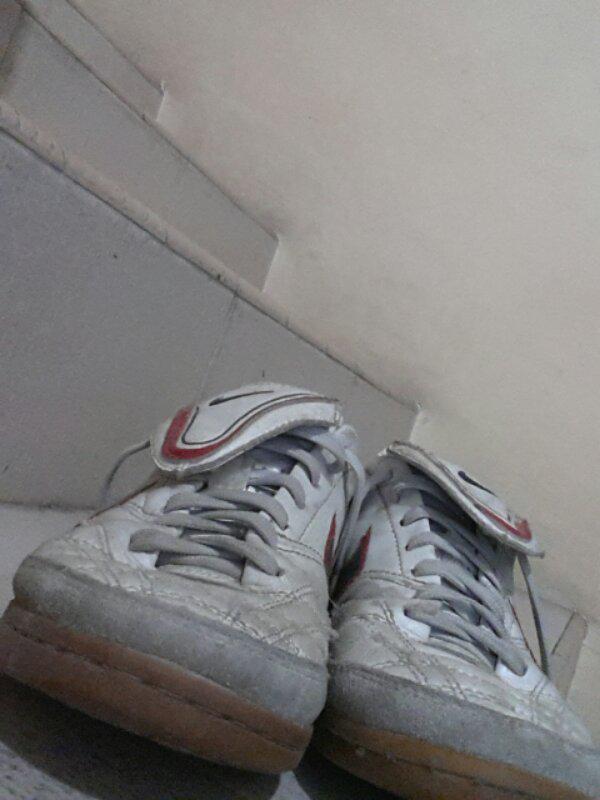 jual sepatu futsal nike tiempo mystic warna putih sz 40 ori