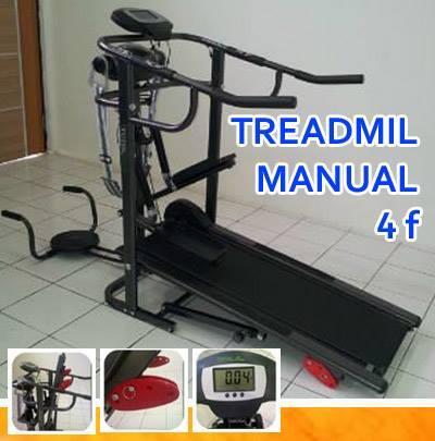 Treadmil Manual 5Fungsi TL-004