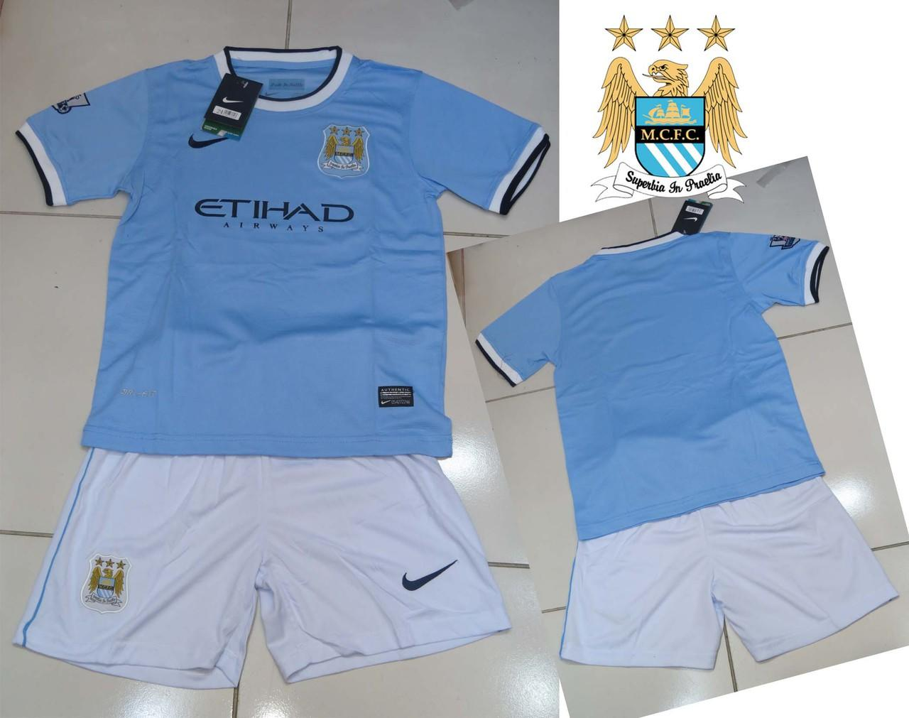 JERSEY MANCHESTER CITY HOME KIDS NEW OFFICIAL