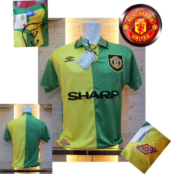JERSEY MANCHESTER UNITED COLLECTION RETRO