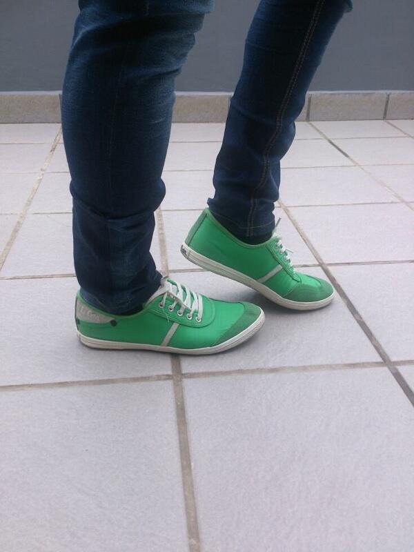 Jual Sepatu Lee Cooper Hijau original