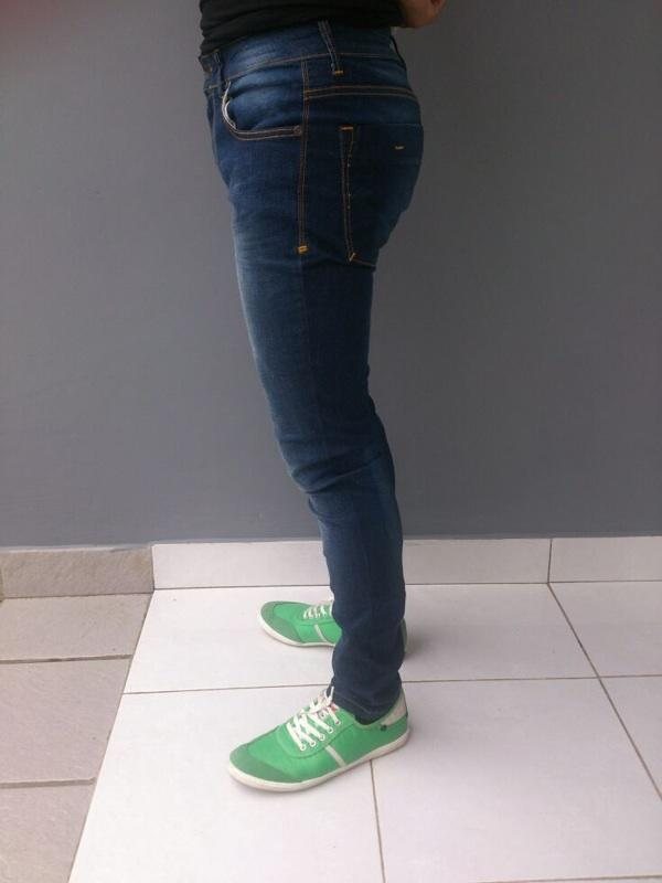 Jual Celana Blue Jeans Skinny Jimmy and Martin