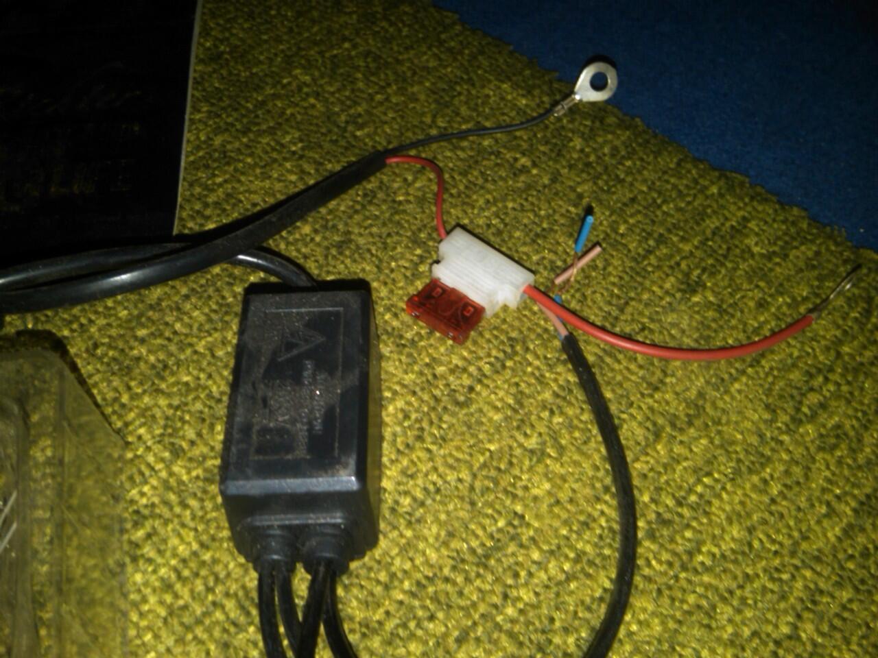 Lampu HID + balast