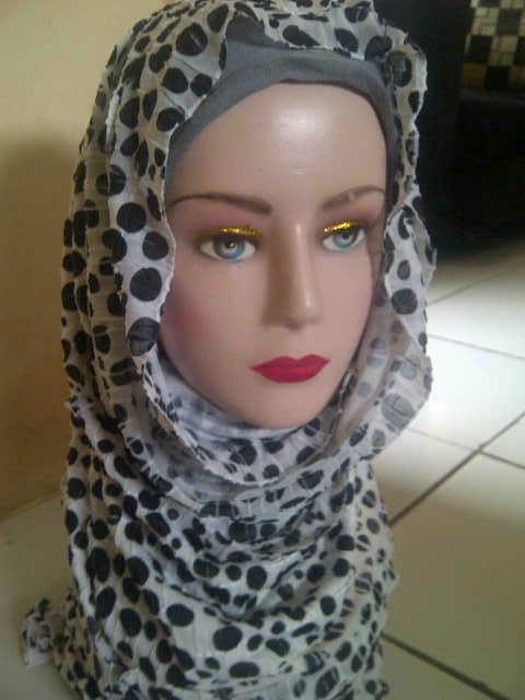 jilbab pasmina rufflee