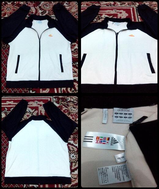 Terjual Jacket Tracktop Adidas Original