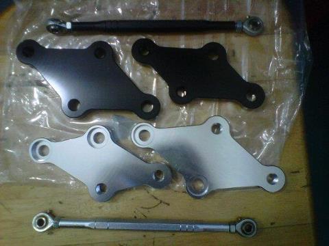 Bracket peninggi step / raiser step utk Ninja 250r/250fi / z250 / CBR 250