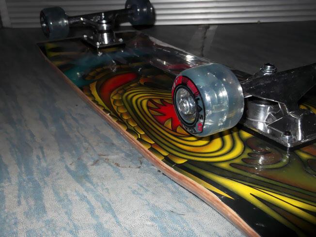 Skateboard Fullset Las Vegas Black Green Bandung