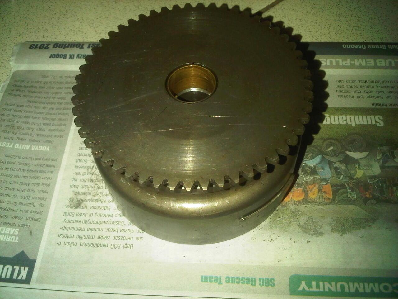 part mesin original copotan honda sonic 125 / cs1