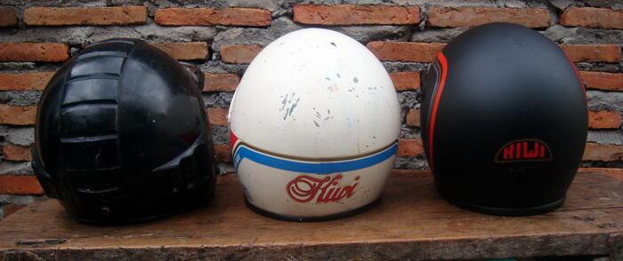 Terjual Helm Robot Helm Kiwi Jadul Antik Bwt Vespa Cb Kaskus