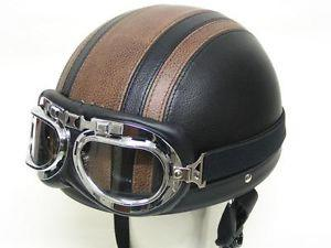 Kacamata Carting Goggle Aviator/Pilot Vespa Scooter Retro