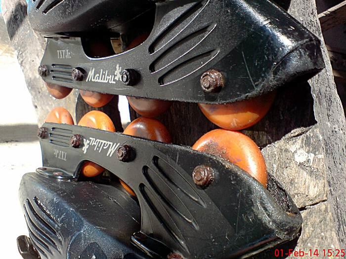 sepatu roda inline skate rollerblade malibu txt jr made in taiwan
