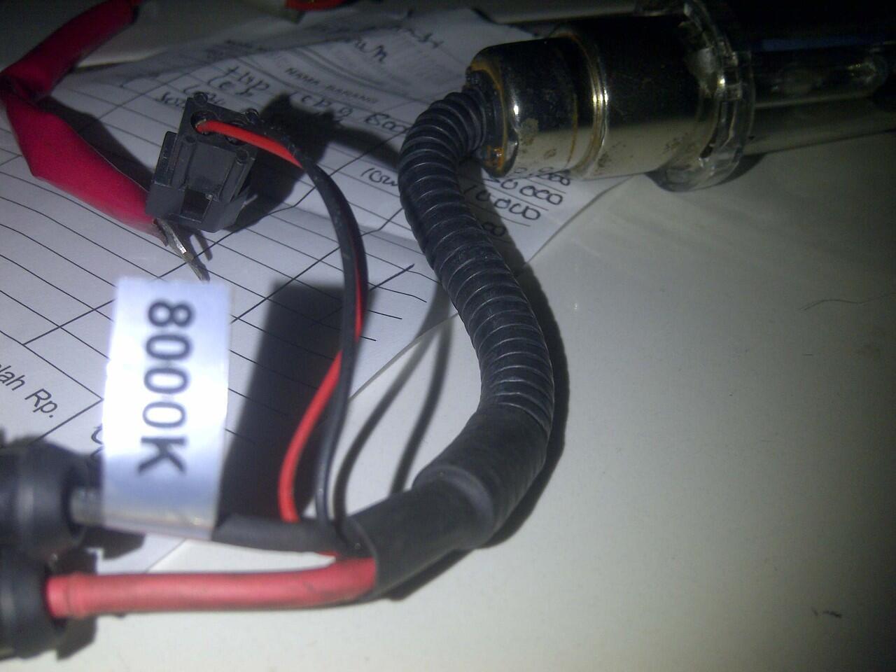 WTS : Lampu HID 9NINE + KIPROK TIGER LIKE NEW !!