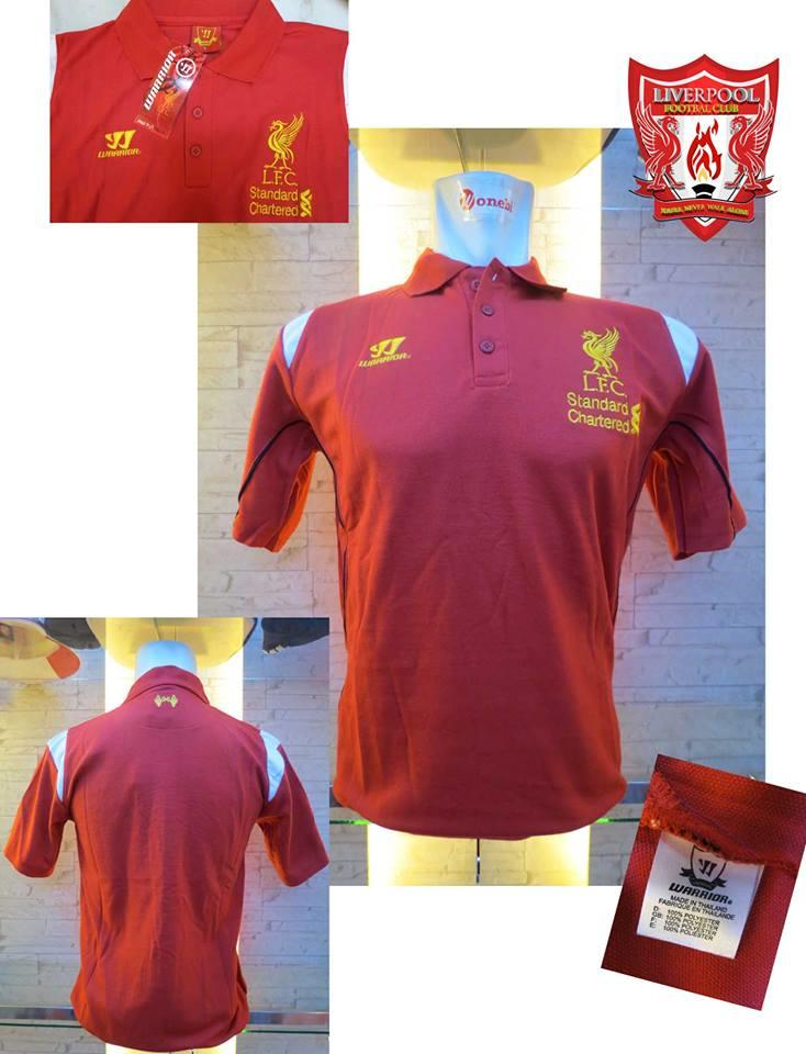 POLO SHIRT LIVERPOOL RED