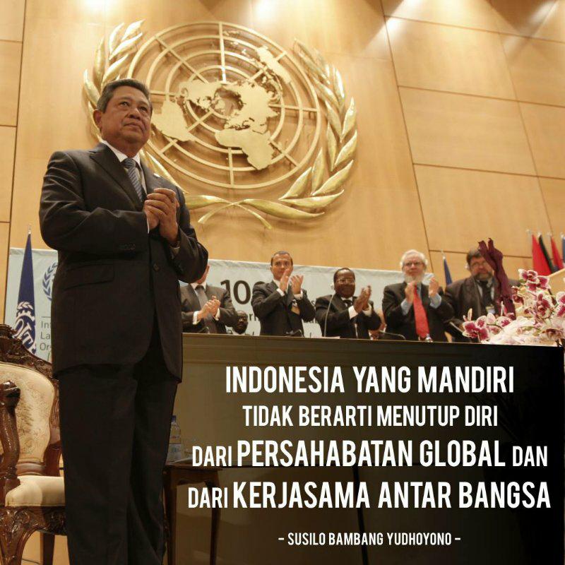 Kata Bijak Dan Inspiratif Presiden SBY
