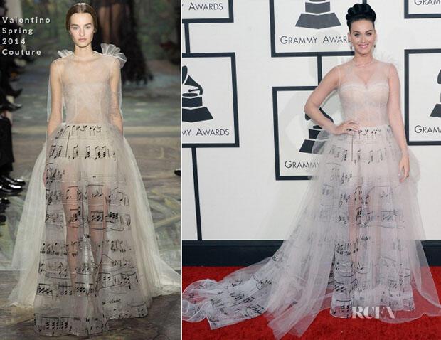Gaun Transparan Katy Perry yang Unik dan Nyentrik