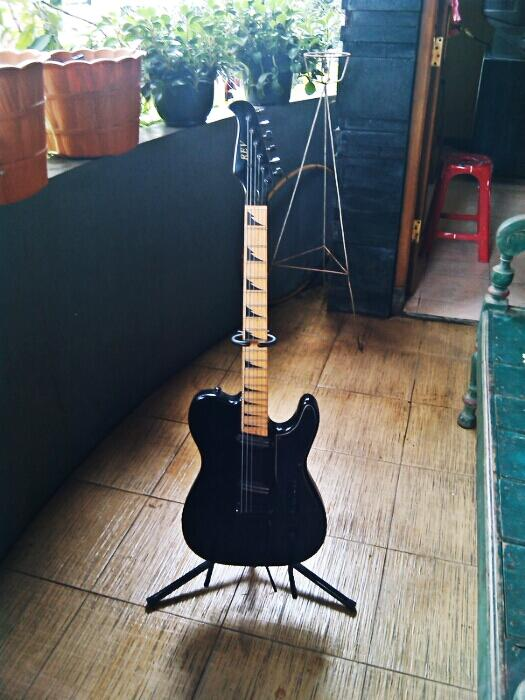 Revelation guitar Corvette series produk lokal paling top!