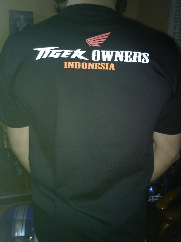 Jual KAOS BIKER TIGER Bandung