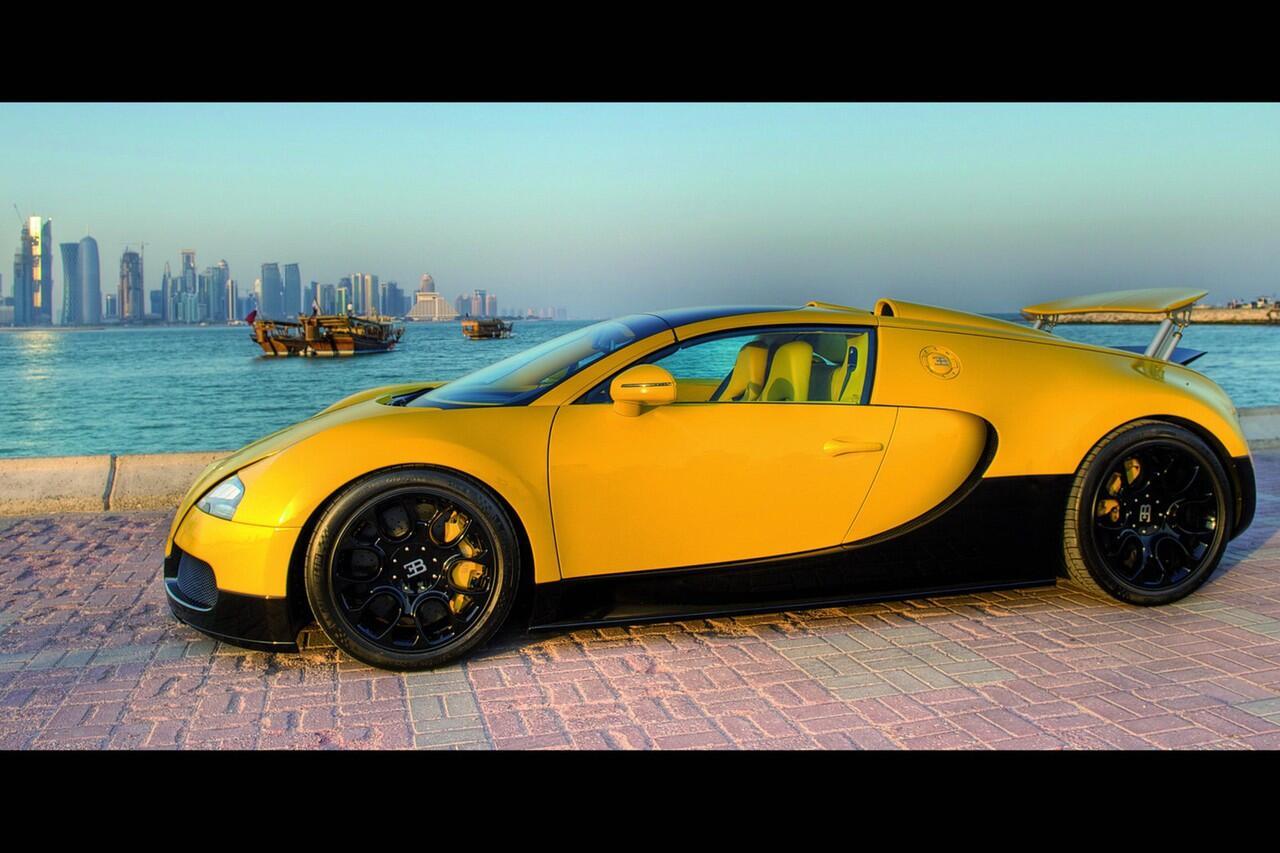 [PIC] Bugatti Veyron Grand Sport Bumblebee Edition