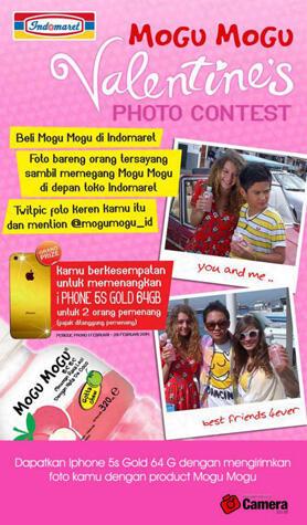 Mogu Mogu Valentine Photo Contest 2014 - Indomaret