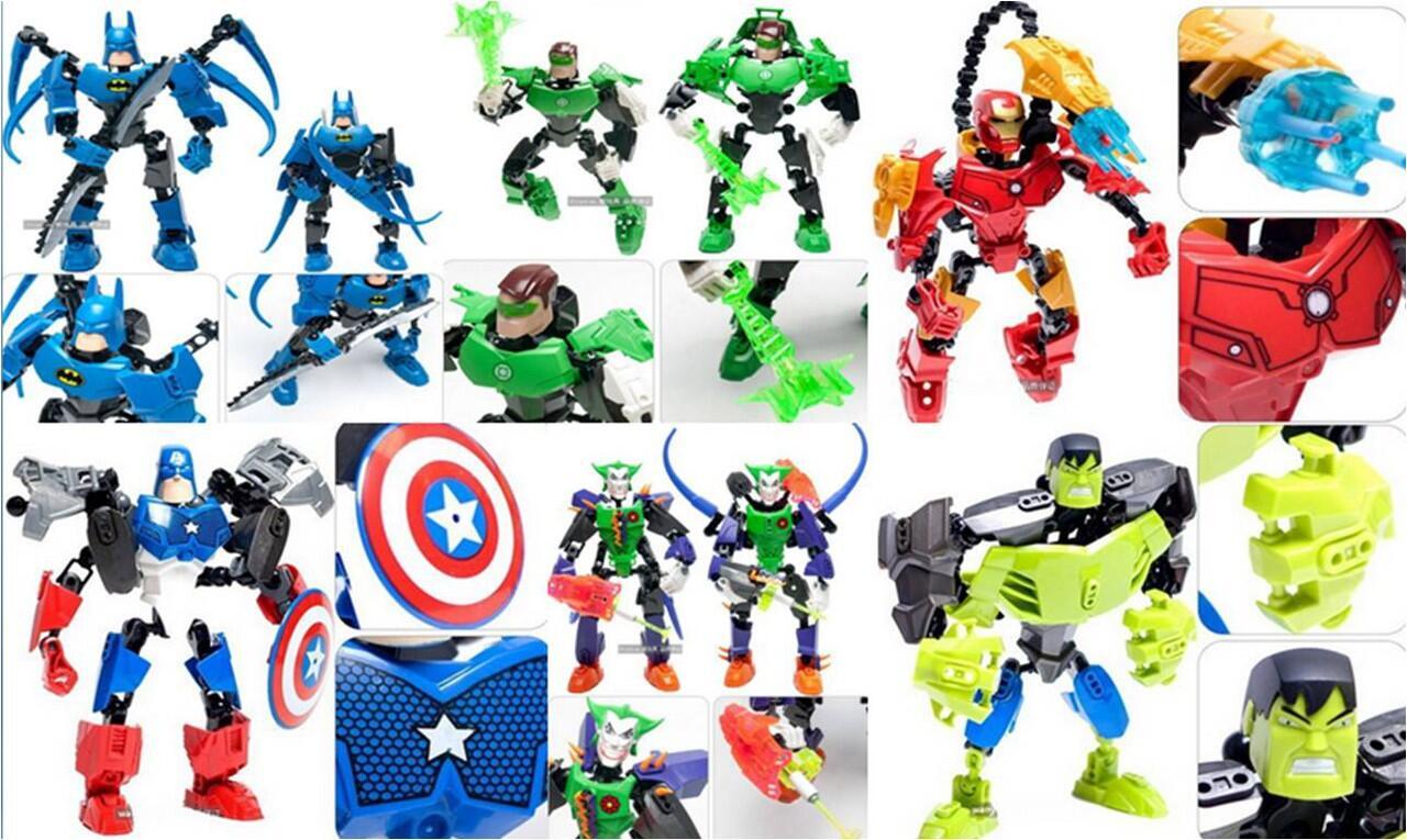 Cari Lego Superhero Marvel Avengers Captain America Iron