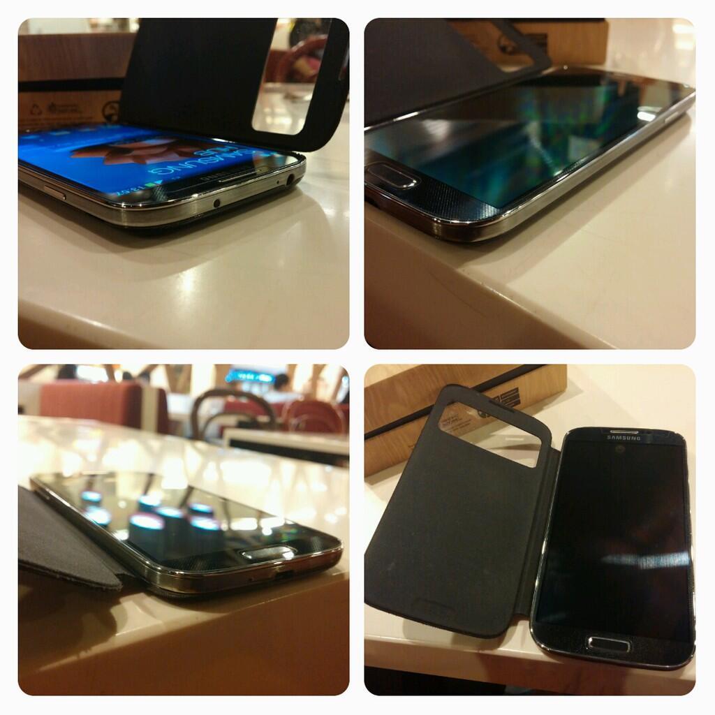 Jual Samsung S4 Black 100% Like New,, Fullset,,, Garansi Long,,, No dent No Lecet,JKT