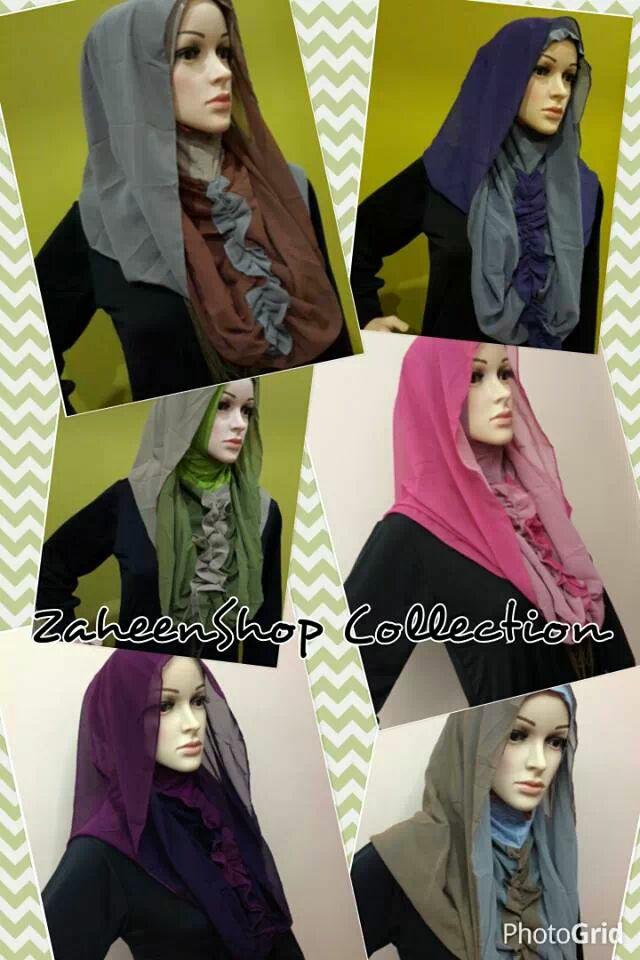 WTS: Berbagai pilihan jilbab instant harga murahhh
