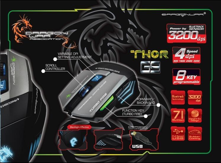 [VERDE] Ready Elephant Gaming MouseLeviathan, Dragunov, Astra, Phantomtor, Chaos