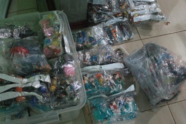 Jual Action Figure One Piece, Naruto, Mickey Mouse