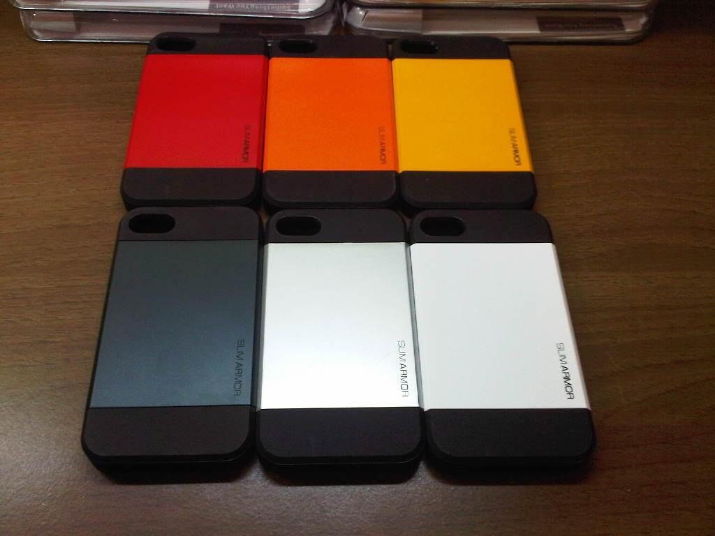Korean Case Spigen Slim Armor iphone 4/4s/5/5s