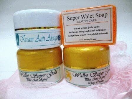 cream walet gold