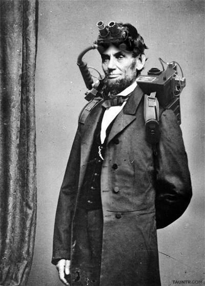 Benarkah Abraham Lincoln adalah seorang Ghostbuster?