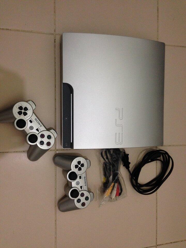 Jual Cepat PS3 slim white 320GB (LIKE NEW)