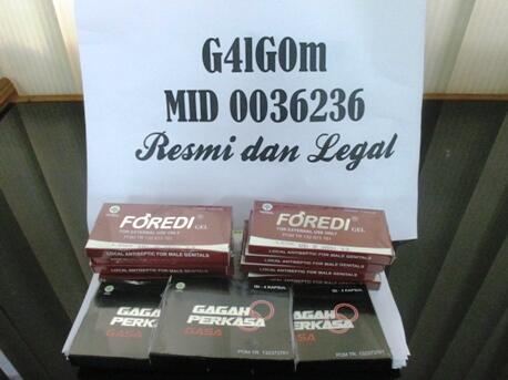 Pusat Penjualan Foredi Gasa Resmi dan Terpercaya MID 0036236